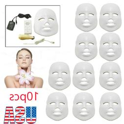 10×  Colors Light Photo Therapy Skin Rejuvenation Therapy F