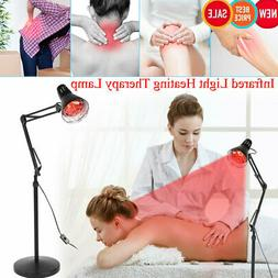 110V Infrared Light Heating Therapy Floor Stand Lamp Muscle