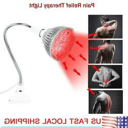 24W Red LED Therapy Lamp Pain Relief Health Skin Care Light