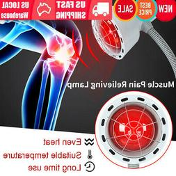 275W Infrared Light Heating Therapy Lamp Muscle Pain Cold Re