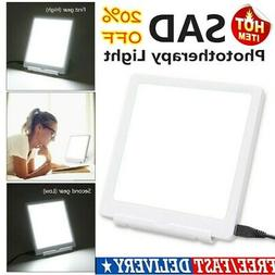 2Mode SAD Therapy Light Sunlight LED Mood Therapy Lamp For D