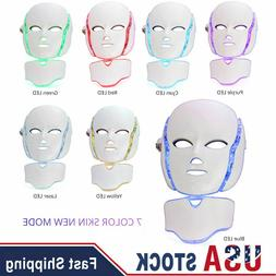 3 Color Lights LED Photon Therapy Eye Mask For Anti-aging An