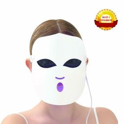 3 Colors LED Light Photon Face Mask Rejuvenation Skin Therap