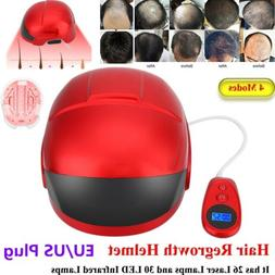 4 Modes Hair Loss Therapy Laser Cap Hat LED Infrared Lights