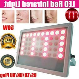 50W LED Therapy Red Infrared Light Panel Anti-Aging Facial B
