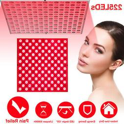 660nm 850nm Anti-Aging 225 Led 45W Therapy Light Panel Infra