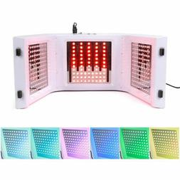 7 Color LED Light Therapy Skin Rejuvenation PDT Anti-aging F
