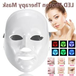 7 color light treatment led photon therapy