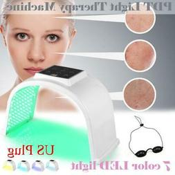 7 Colors LED Light PDT Facial Skin Care Body Therapy Rejuven