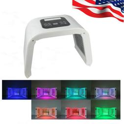 7Color LED Light Photon Therapy PDT Skin Care Face Lamp Reju