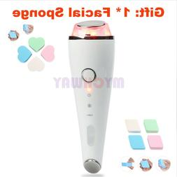 Cold Warm Therapy Hammer Tightening Salon Massager LED Light