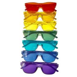 Versful Color Therapy Glasses Charka Mood Light Therapy Chro