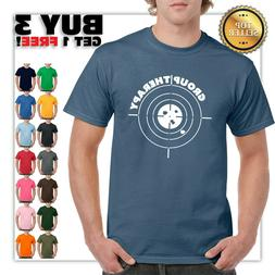Group Therapy Shooting T Shirt Funny Gun Laws Rights America