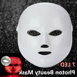 Infrared Light Face and Neck Whitening Facial Mask Face Lift
