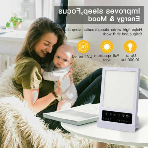 2 IN 1 Light Therapy Sleep Device 10000 Touch Hot