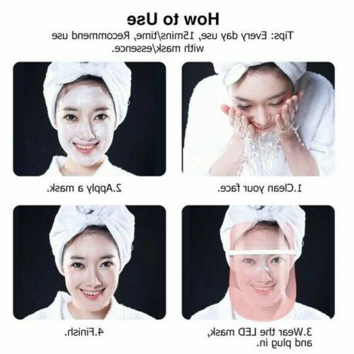 3 Photon Face Skin Therapy Wrinkles