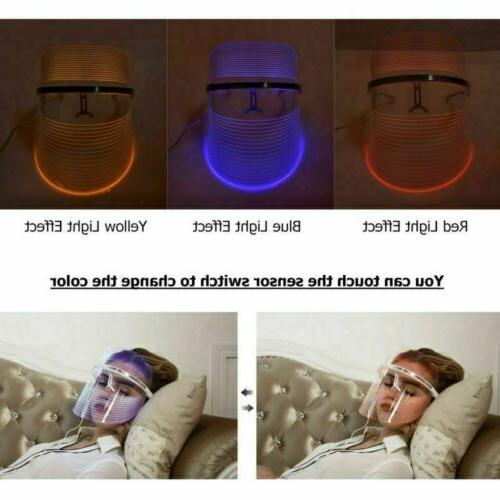 Photon Face Mask Skin Therapy Wrinkles