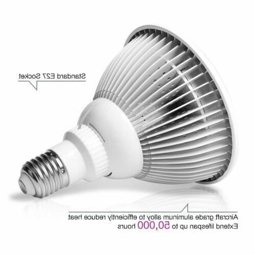 36W Light Therapy Bulb 660nm &850nm Near Infrared Pain