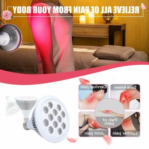 36W LED Light Therapy Bulb 660nm Pain