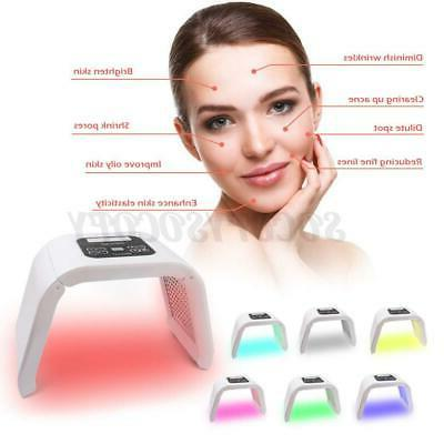 7 Color LED Photon Therapy Face Machine