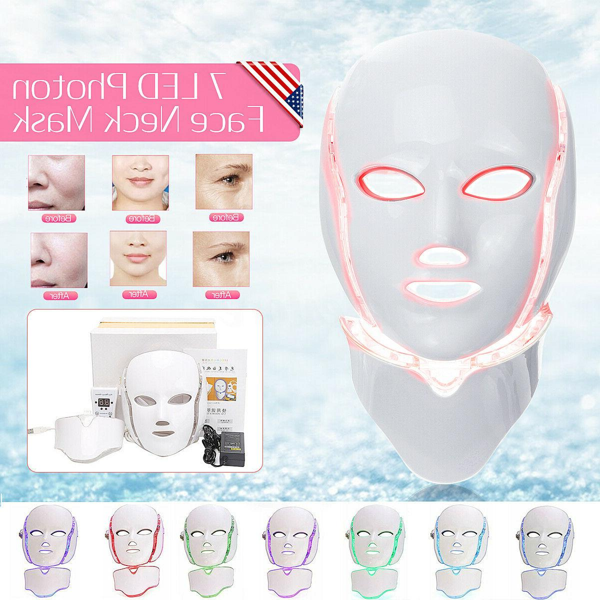 7 Color Treatment LED Therapy Mask