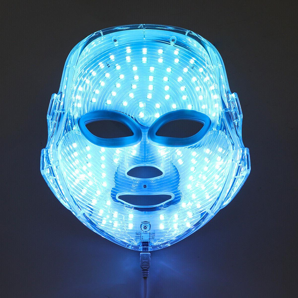 7 Light LED Therapy Mask