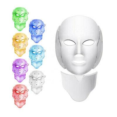 7 LED Light Photon Rejuvenation Facial Anti-Aging