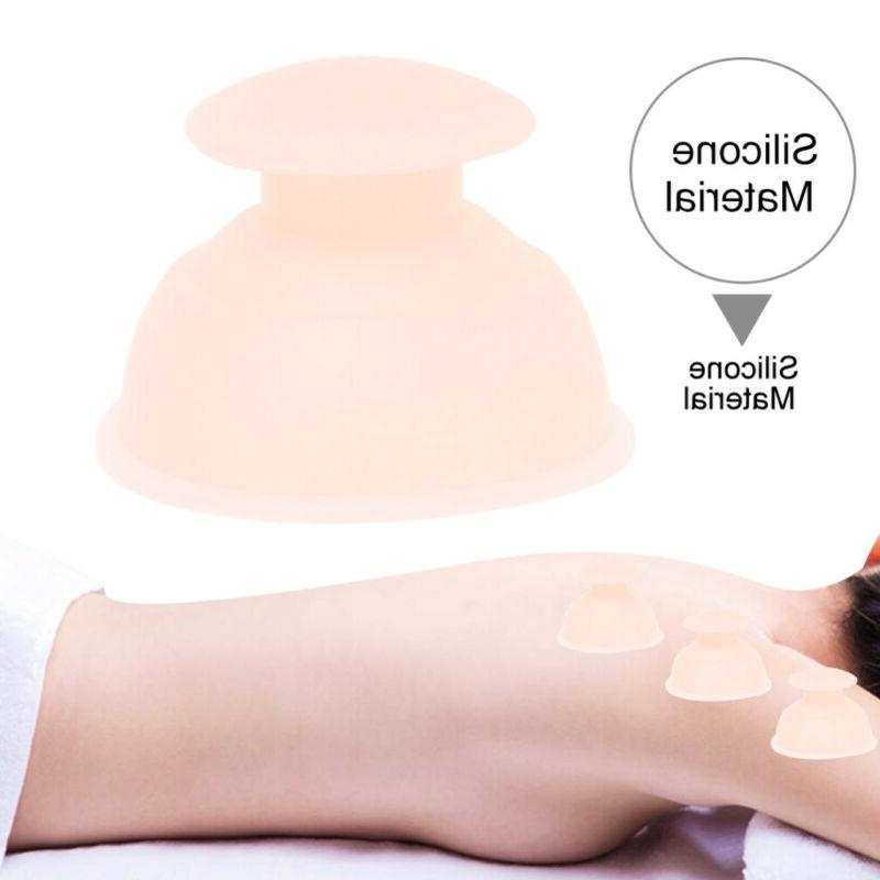 Anti Cellulite Cup Cupping Family Facial Body Massage Therapy