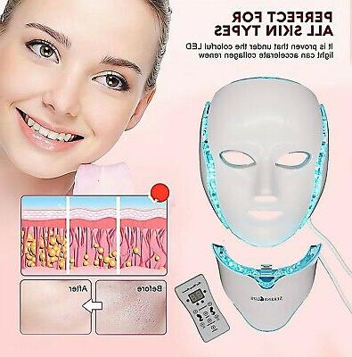 Serene FM5000 Facial Anti Aging Acne Removal Light Therapy LED, FDA