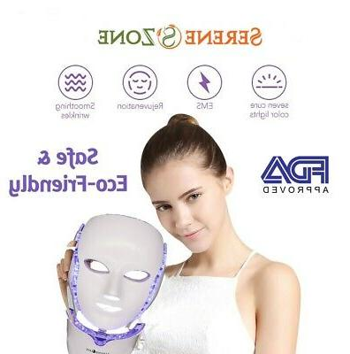 fm5000 facial anti aging acne removal light