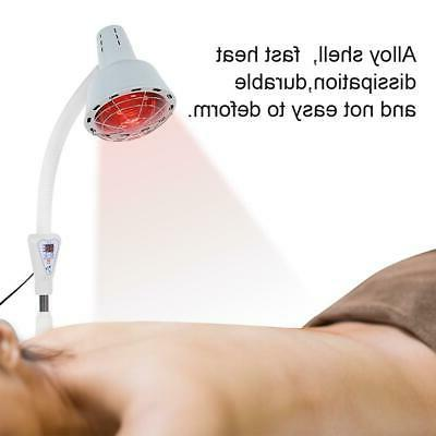 Infrared Light Heating Floor Stand Pain Cold Relief US