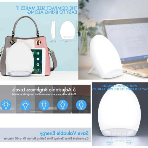 light therapy lamp natural energy portable depression