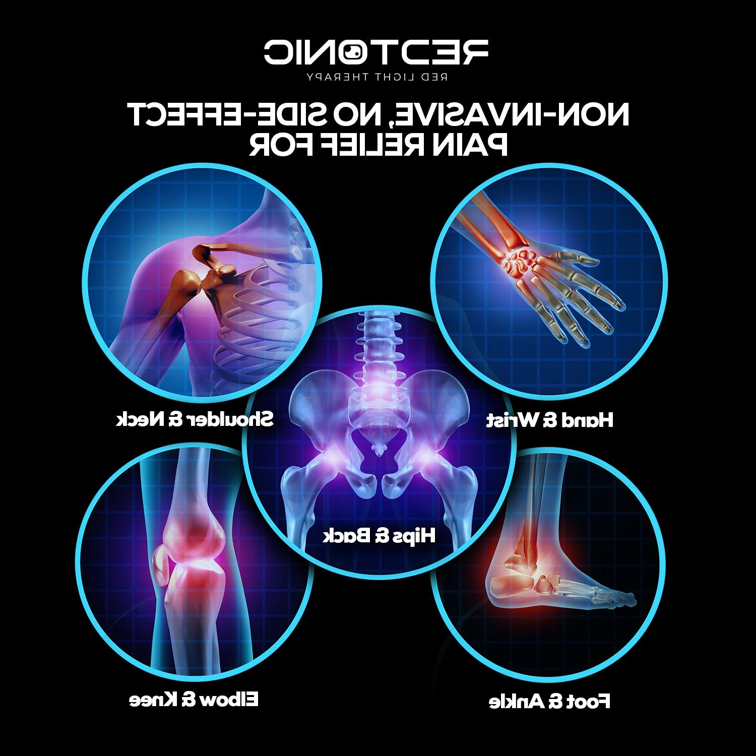 RedTonic Red Light Device Pain Relief for Muscle, Body