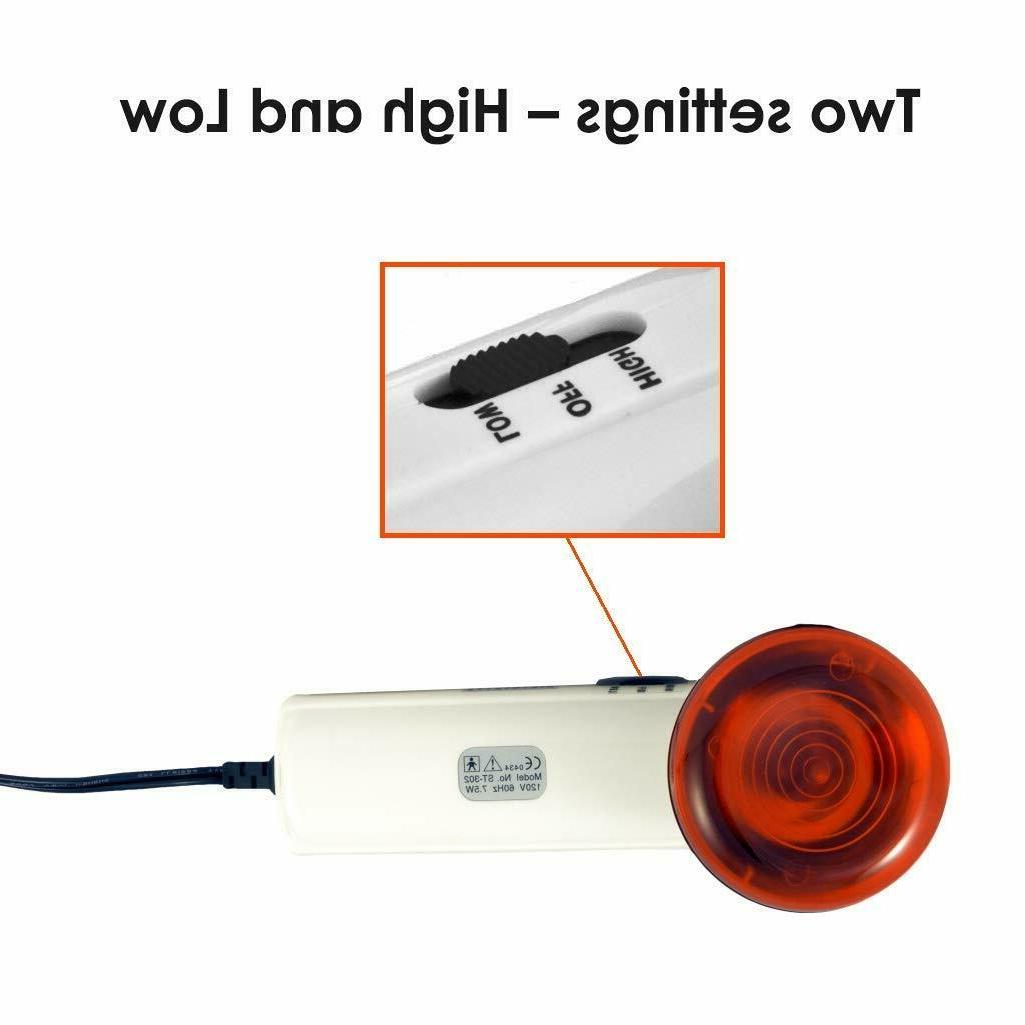 Red Therapy Heating Wand by – Lamp