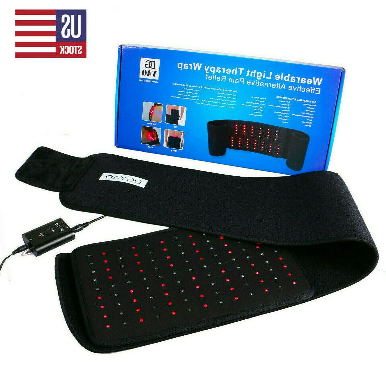 red light therapy infrared light pad muscle