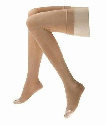 relief compression thigh stockings 15 20 mmhg