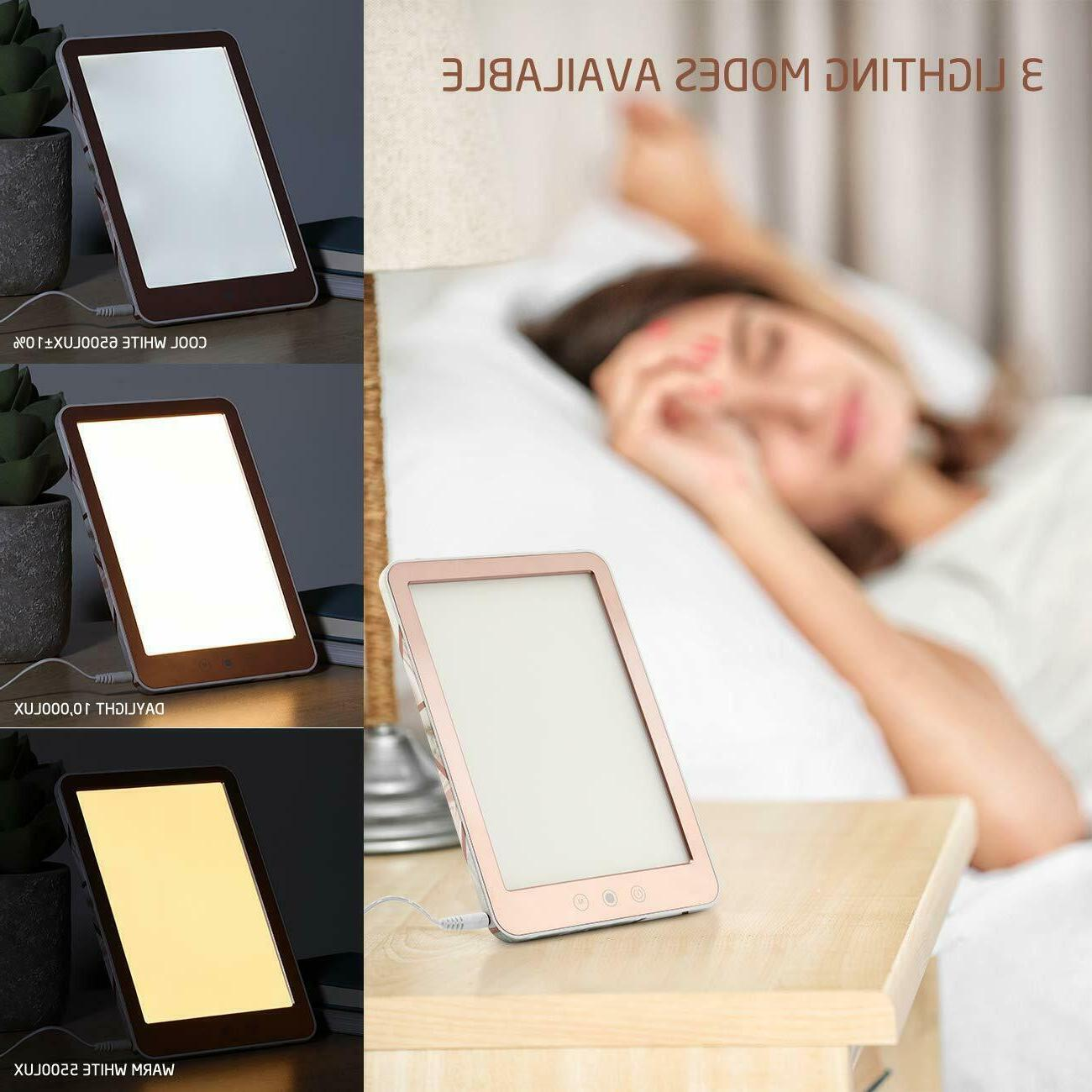 sun lamps for depression relieve 10000 lux