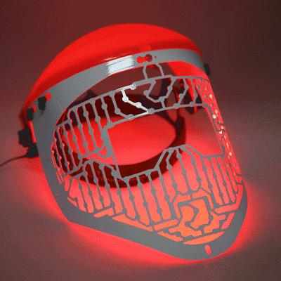 3 colors led light therapy facial mask