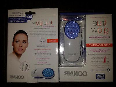 true glow acne treatment light therapy solution