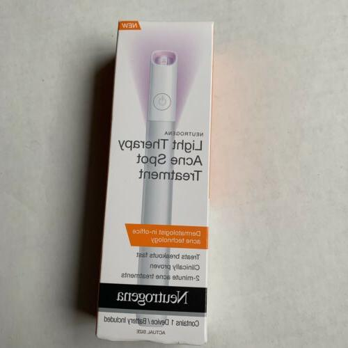 Neutrogena Visibly Clear Light Therapy Targeted Acne Spot Tr