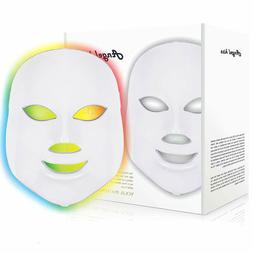 Led Face Mask - Angel Kiss 7 Color Photon Blue Red Light The