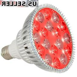 led light therapy bulb 660nm deep red