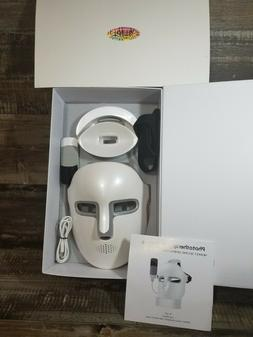Newkey Led Light Therapy Facial Mask - Used Newest Red / Blu