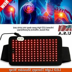 LED Light Therapy Wrap Arthritis Recovery Shoulder Belt Musc