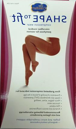 Pantyhose 20-30 mmHg Compression Stocking Supports Microfibe