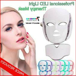Professional LED Light Therapy Mask Anti Wrinkle Acne Whiten