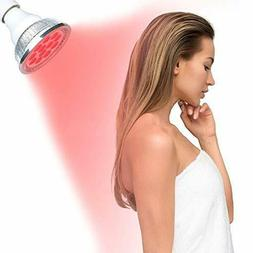DGYAO Red LED Light Therapy Bulb for Skin Back Pain Relief M