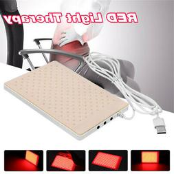 red light infrared led therapy pad lec