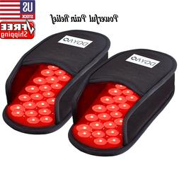 DGYAO Red Light Therapy Decive Slipper Infrared Light Foot P