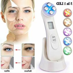 RF/EMS/LED Light Therapy Photon Face Skin Care Spa Electric